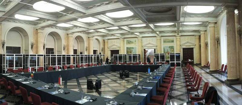 Simultaneous interpreting systems, sound systems, projection, full service conference