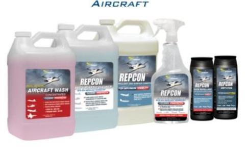 Aircraft cleaning and protection