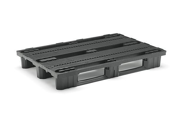 Specifications ColourBlack Weight17,30 kg MaterialPP Dynamic load 1.000 Kg Static load 2.000 Kg Rack load  1.000 Kg