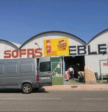 Tienda de sofas y muebles en Torrevieja