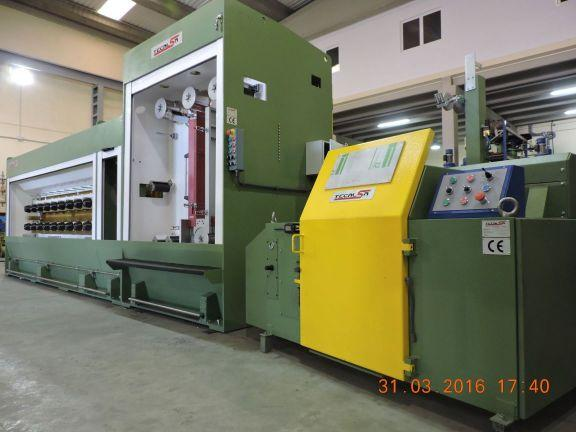 Multiwire drawing line machine
