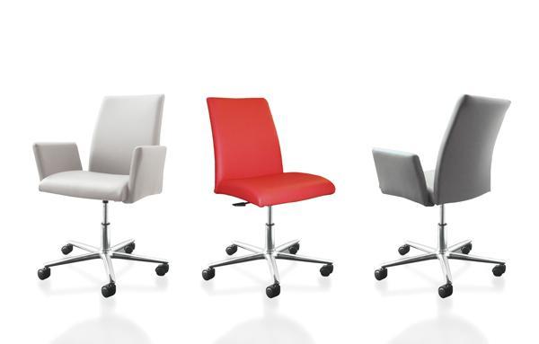 Un confort remarquable pour travailler en toute élégance depuis chez soi. Disponible dans de nombreux coloris, en cuir ou en similicuir.