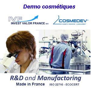 produits cosmétiques et de parapharmacie sous les marques: PERMATAN® - Dermask® - INOPROPIG® - COSMEDEV® bénéficiant des DIX ANS d'expérience de l'équipe de R&D de l'Association Permatan