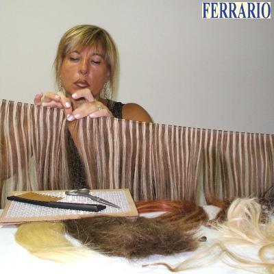 Ferrario snc produce con capelli naturali 100%