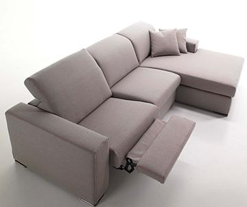This is Belen, Sofa by Alterego Divani, with relax mechanism, high quality confort.