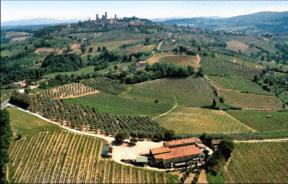 Vista dell'azienda agricola