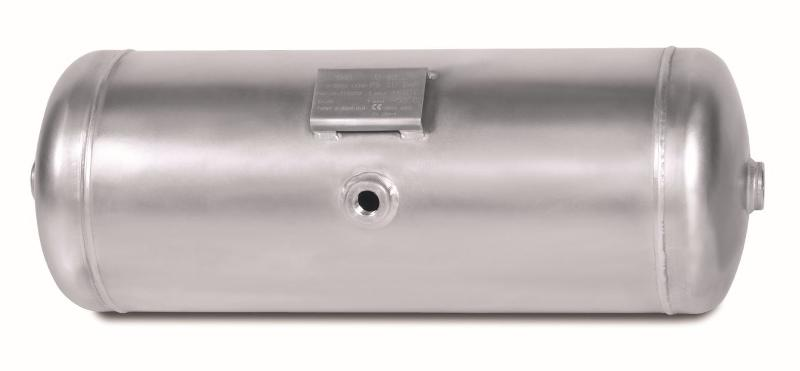 Aluminium air tanks for Commercial vehicles and rail industr
