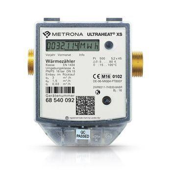 batteriebetriebener Kompakt-Wärmezähler