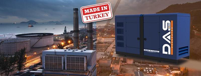 شركة DAS POWER لجمع انواع واحجام الموالدات الكهربائية المصنع تركيا مباشر