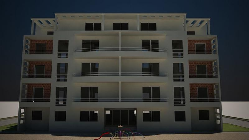 Résidence clôturée et gardée avec une variété d'appartements de type  :F2- F3-F4 -F6 et Duplex