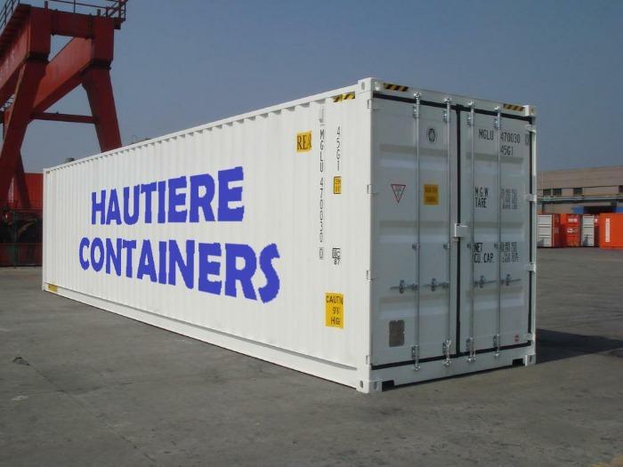 Container maritime 40 pieds