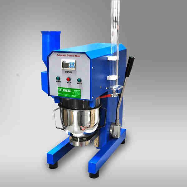 Automatic mortar mixer