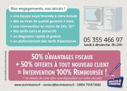 Technissimo - services informatiques Bordeaux
