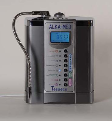 Alka Med Sp-750 è un elettrodomestico con caratteristice di fascia alta, dotato delle più ampie superfici di elettrolisi in commercio e con un'elettronica ben studiata ed affidabile.