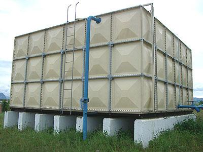 GRP tanks for water and gas stations