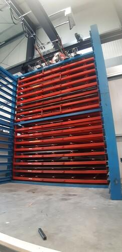 Blechlagersystem Lagerbestand 1-20mm