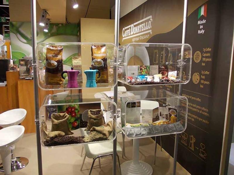 Our booth during last Anuga edition, a portion of our range and tradition