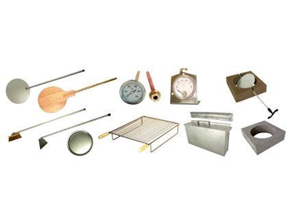 Accessoires fonctionnels pour four à bois