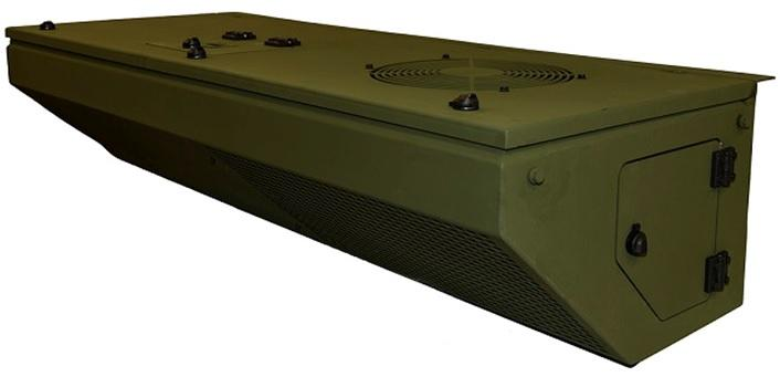 Military type heavy duty cooling & hetiang system