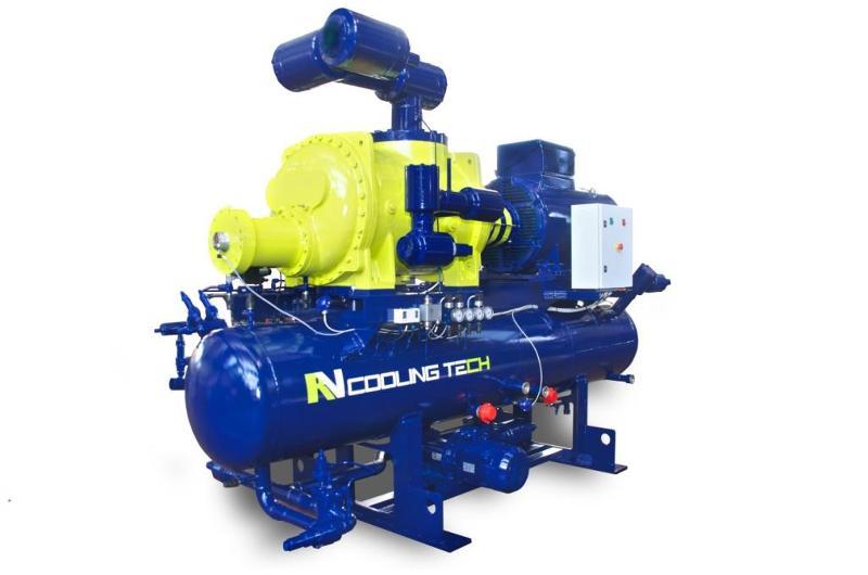 Equipo Motocompresor Howdem diseñado y fabricado por RV Cooling Tech.