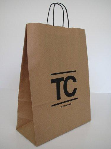 Papiertaschen mit Papierkordel