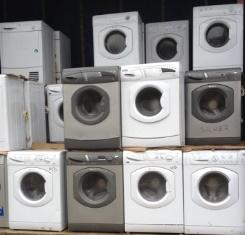 Large volume tested working washing machines second hand