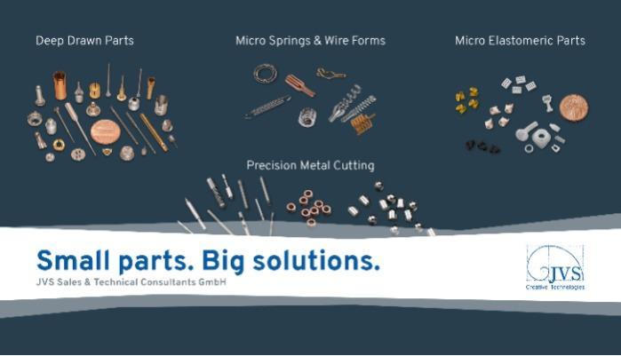 Small Parts | Creative Technologies | JVS GmbH