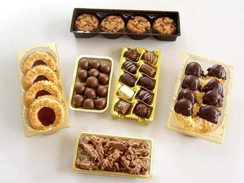 Verpackung für Süßwaren