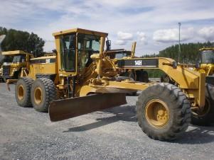 used caterpillar motor grader 140h 140g 14g