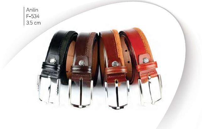 Classic Leather Belt 004