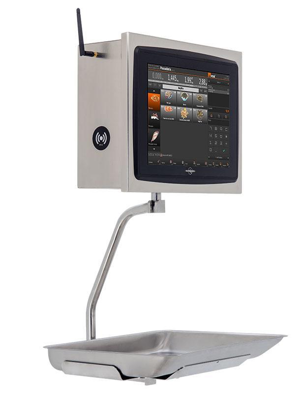 """Balanza con tecnología touch 12,1""""       http://balanzasmarques.es/products/details.php?id=192"""