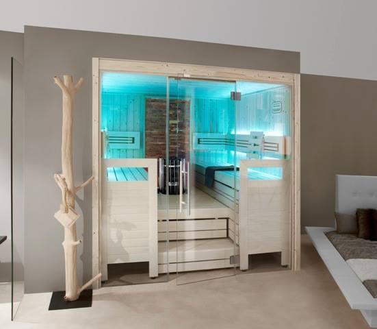 Sauna moderne Saunatec France