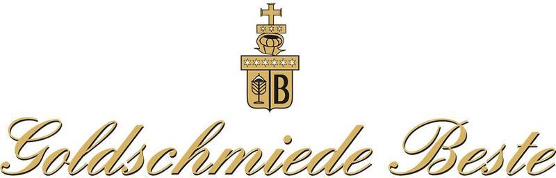 Logo und Schriftzug der Goldschmiede Beste