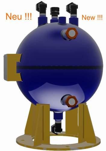 CO2-Sammler für Hochdruck