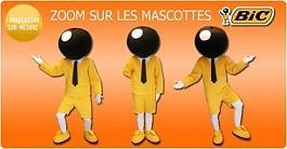 Mascottes Publicitaires. Fabrication de costumes publicitaires sur-mesure. Mascots Maker, Advertising Costumes.