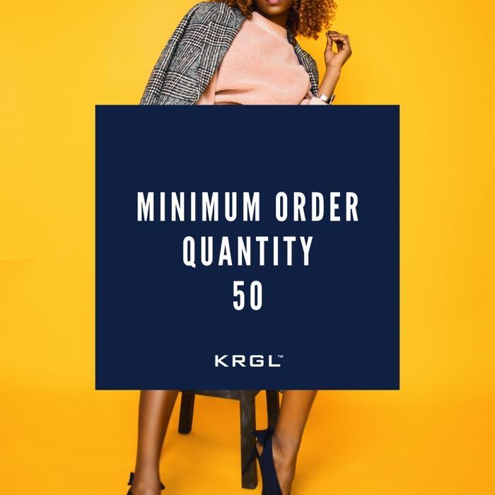 Regardless of your order quantity...