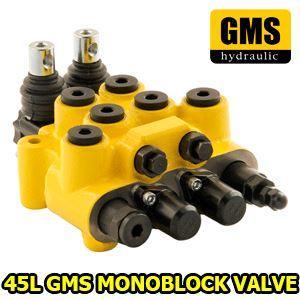 "1) Spool: 1,2 / Double-Single-Closed Center-Motor -Floating- Regenerative 2) Liter : 45L Nominal-65L Max 3) Ports: M18x1,5  Standard - 3/8"" - 1/2"" - Optional"