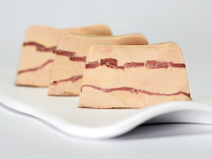 Foie gras au magret fumé