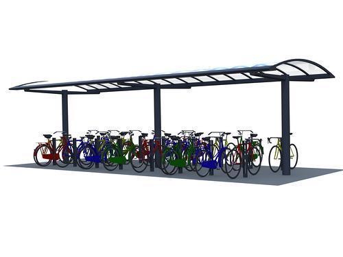 Fahrradüberdachung Piazza