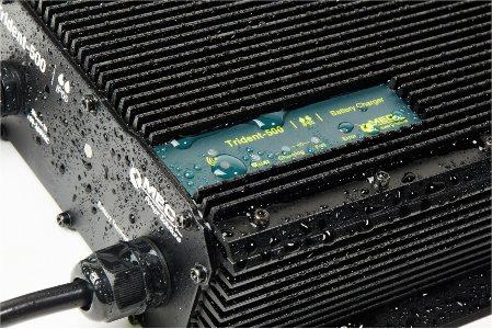 Battery Charger Working under the Rain