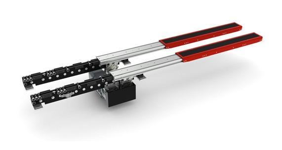 Single-deep Pallet Telescopic Fork