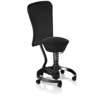 Le Swopper dans sa version siège de bureau ergonomique