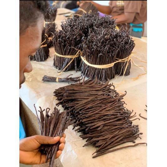 Production de vanille de Madagascar