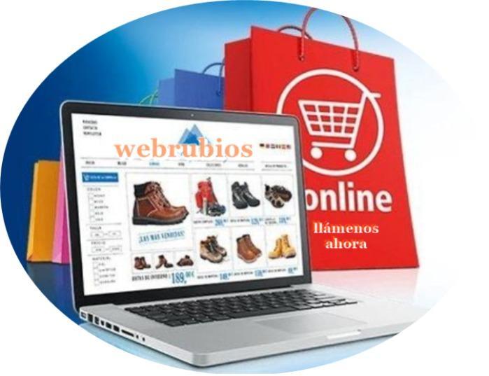 Ofertas páginas web. Ofertas diseños de páginas web. Ofertas tiendas virtuales