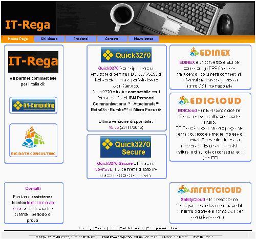 Pour distribuer en Italie votre logiciel ou votre service IT où compétences informatiques et techniques en tout genre sont requises, IT-Rega sera le bon choix.