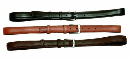 Leather belts made in Greece 3cm double face (one side black,the other side in brown).