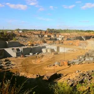 mining granite quarry