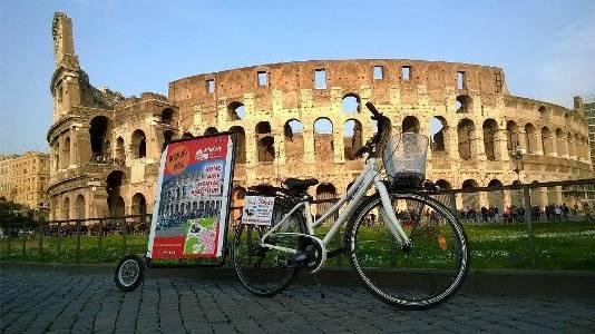 Bike rental and bike tours of Rome