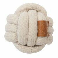 Knotenball aus Baumwollseil