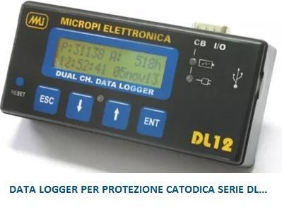 DATA LOGGER per Protezione Catodica SERIE DL....